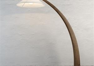 现代简约室内台灯设计3d模型