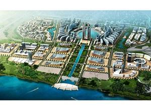武汉新区滨水区概念性城市设计jpg方案