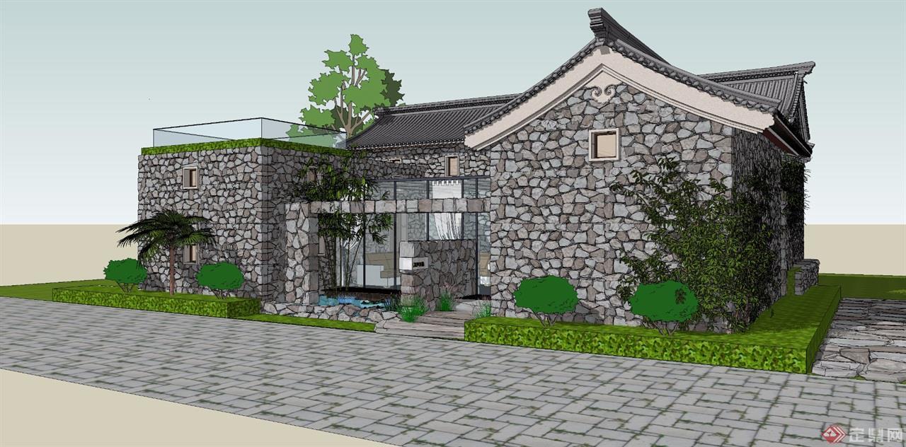 院子风景设计图