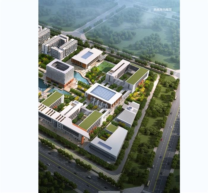 某现代风格学校校园景观有什么可以免费领红包jpg方案[原创]