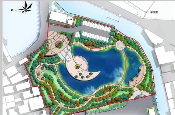某现代风格详细的公园景观设计pdf方案[原创]