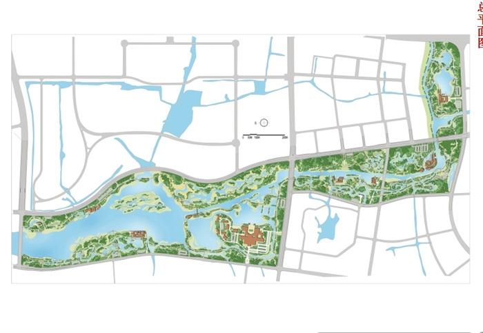 无锡长广溪湿地公园建筑景观概念设计ppt方案[原创]图片