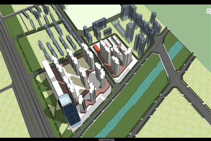 某现代住宅小区景观设计jpg方案[原创]