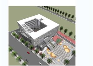 汕头小学教学景观设计jpg方案