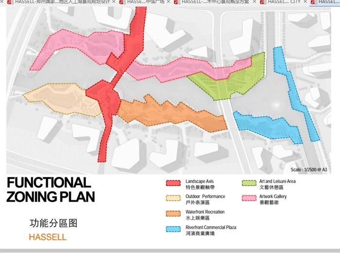 汤山新城cbd滨水景观概念设计pdf方案[原创]