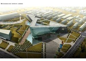 天津电视大厦建筑jpg方案