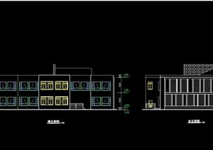 代别墅室内设计cad施工及效果图 -施工图设计素材下载