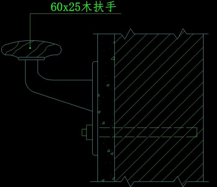 栏杆、扶手设计cad方案[原创]cad多重偏移多次图片