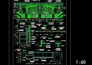 宾馆类各种前台设计cad施工图-室内设计素材室内装修效果图模型等资