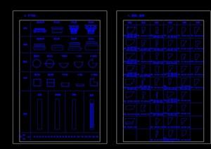 各种角线模型-外墙装饰构件cad方案
