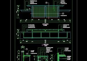 接待台装修CAD常用图块