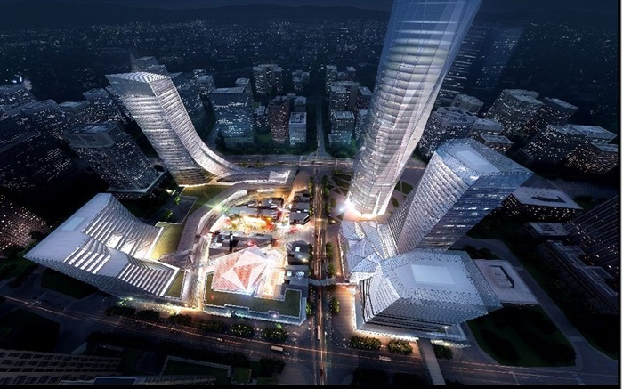 现代城市商业中心CBD地块项目规划方案(1)