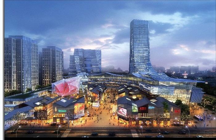 现代城市商业中心CBD地块项目规划方案(3)