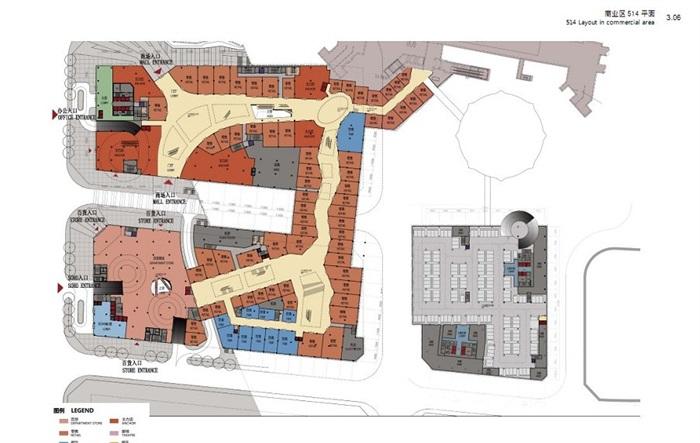 现代城市商业中心CBD地块项目规划方案(6)