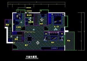 一套三居室家装设计方案图