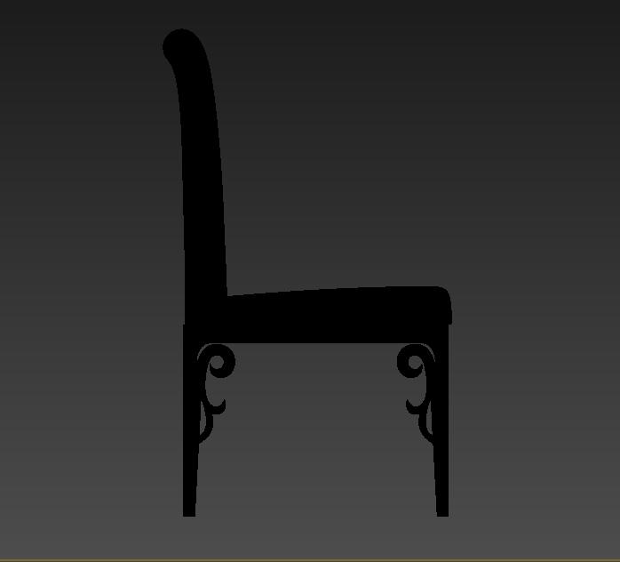 现代独特椅子设计3d模型[原创]
