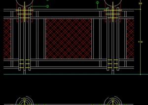 栏杆设计方案图纸