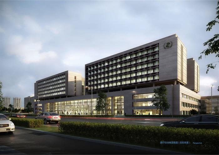 某大型医院规划及建筑方案设计(含文本、CAD)(3)