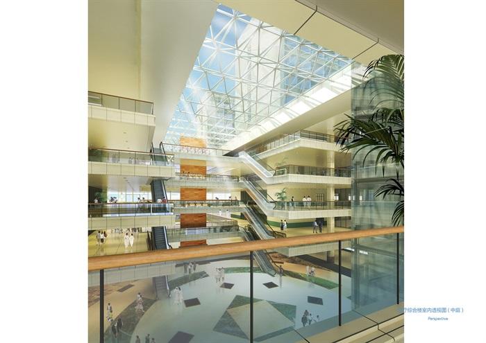 某大型医院规划及建筑方案设计(含文本、CAD)(4)