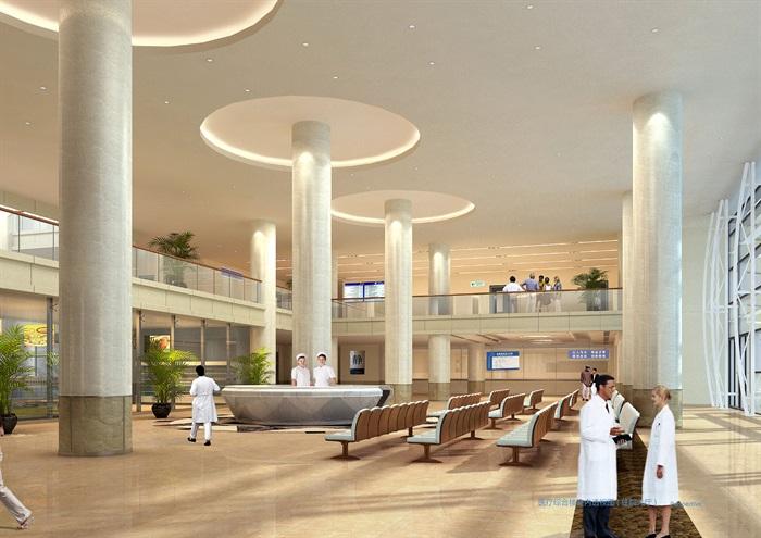 某大型医院规划及建筑方案设计(含文本、CAD)(5)