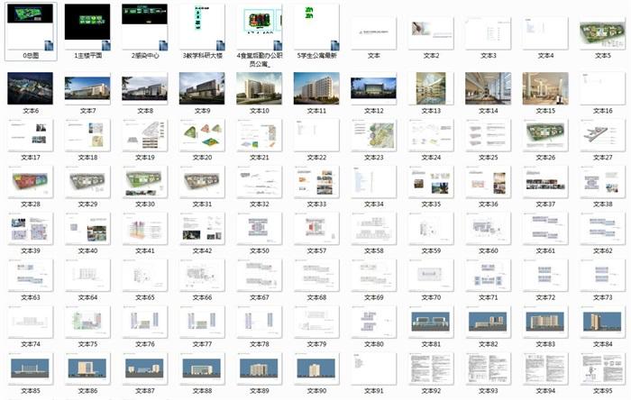 某大型医院规划及建筑方案设计(含文本、CAD)(8)