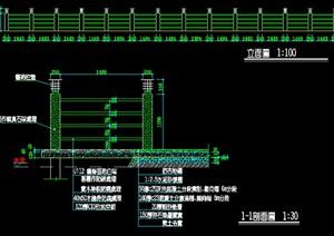 栏杆详细设计cad施工做法