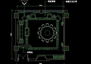 室内装修详细设计cad施工常用图块