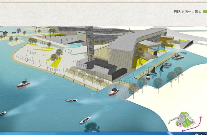 新城核心区滨湖广场及滨湖公园景观设计pdf方案[原创]