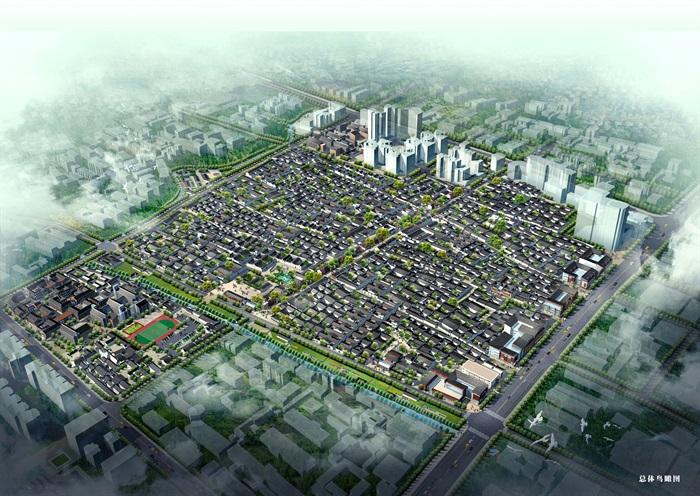 福州三坊七巷历史文化街区改造景观规划方案(1)
