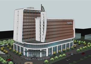 精品酒店SU(草图大师)模型