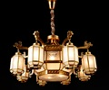 吊燈,燈具,燈飾,全銅吊燈