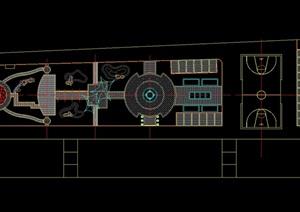 泰州厂区设计cad施工图