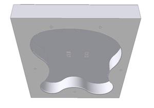 简约不规则吊顶设计SU(草图大师)模型
