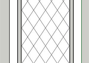 某室内吊顶装饰SU(草图大师)模型