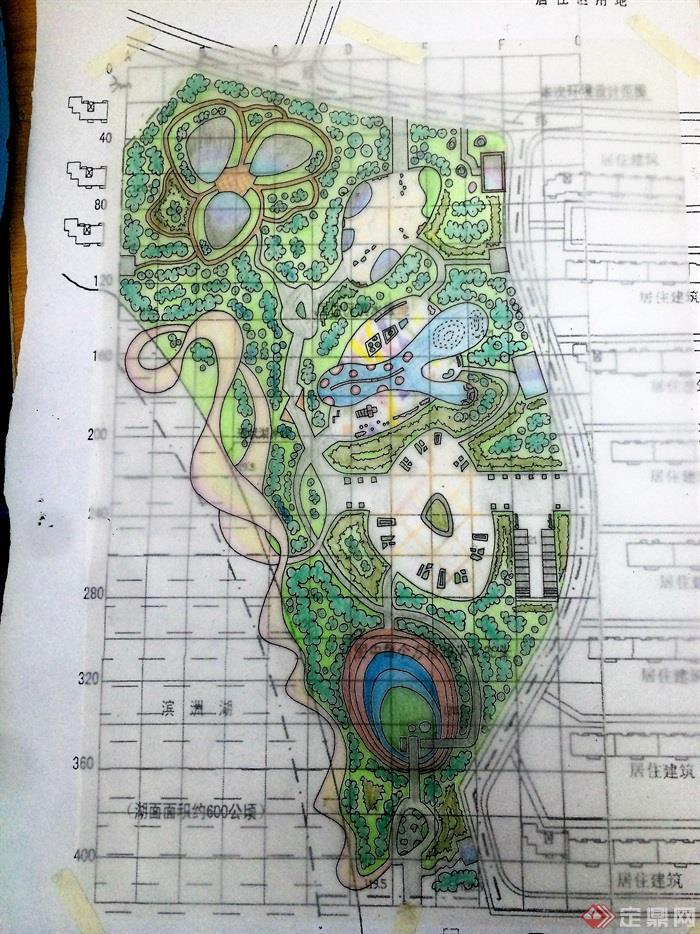 公园,公园景观,公园规划