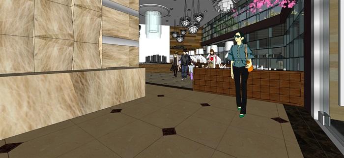 售楼部现代风格(2)