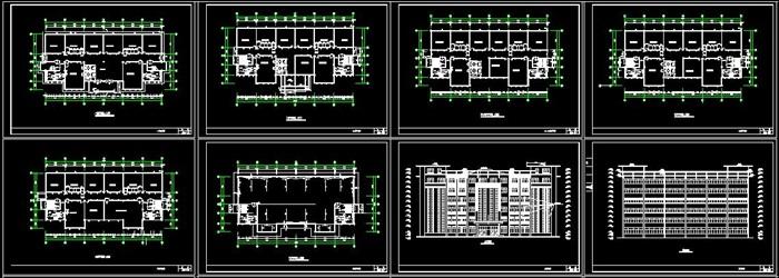 某公司六层框架结构办公楼建筑设计及结构计算书-4521平(5)