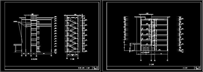 某公司六层框架结构办公楼建筑设计及结构计算书-4521平(6)