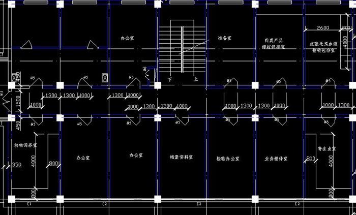 某四层框架结构综合办公楼建筑结构施工图及计算书-4388平(5)