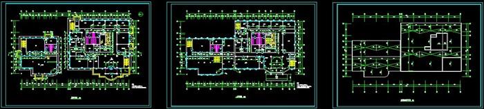 十层框架结构综合办公楼建筑设计-10500平_t3(3)