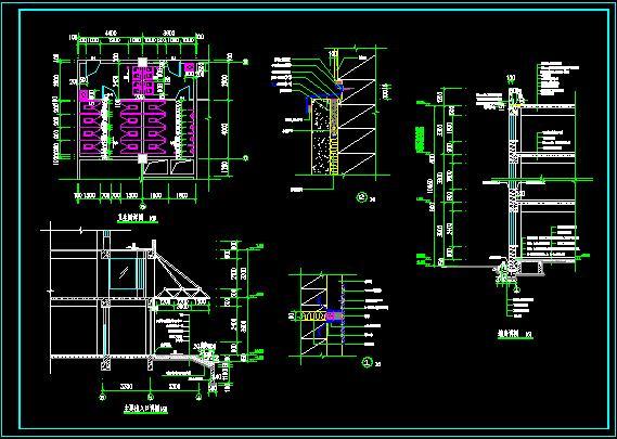十层框架结构综合办公楼建筑设计-10500平_t3(7)