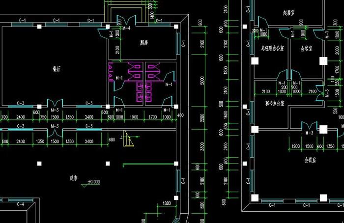 十层框架结构综合办公楼建筑设计-10500平_t3(8)