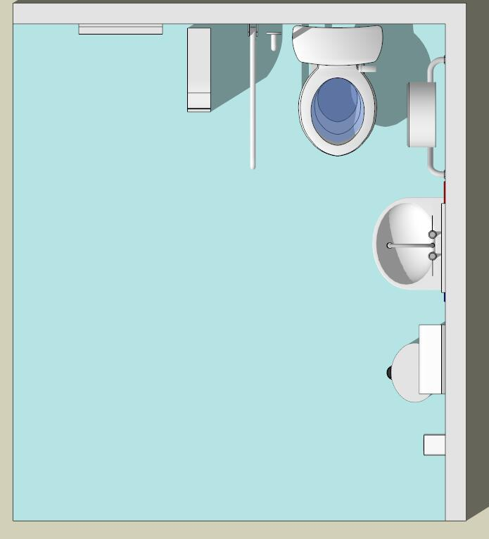 卫生间室内设计su模型