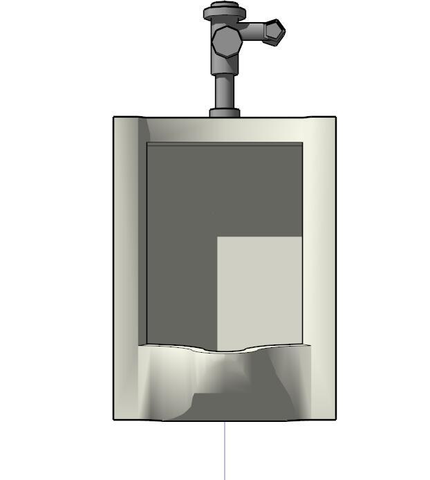 小便池su模型