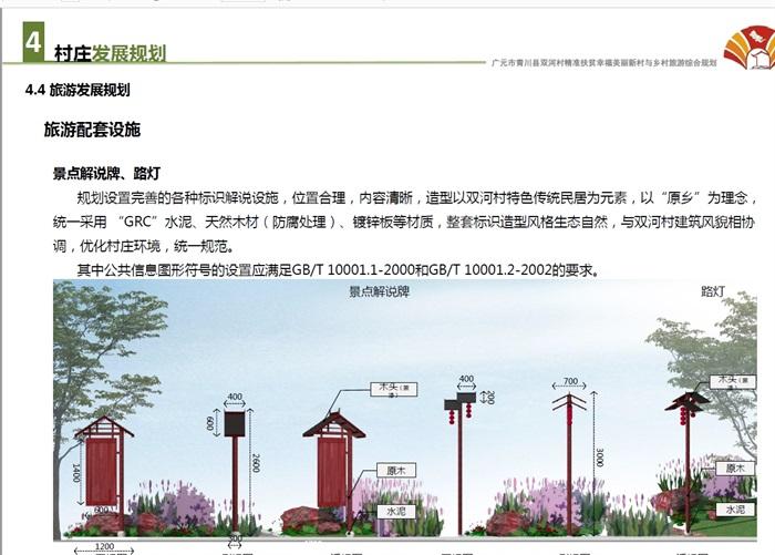 美丽乡村与乡村旅游综合规划设计方案高清文本