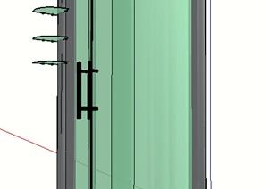 某室内浴室素材设计SU(草图大师)模型