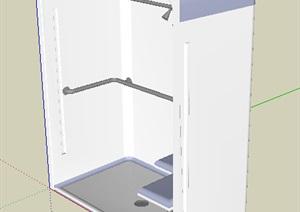 浴室洗浴空间SU(草图大师)模型