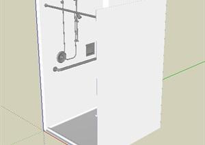 某浴室空间素材SU(草图大师)模型