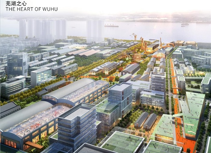 某造船厂城市设计方案高清pdf文本[原创]