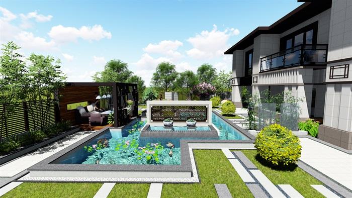 新中式别墅设计案例展示